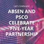 Absen and PSCo celebrate five year partnership