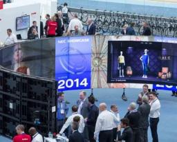 portable video wall system NEC